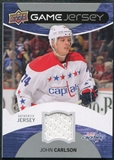 2012/13 Upper Deck Game Jerseys #GJJC John Carlson E