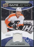 2012/13 Upper Deck Game Jerseys #GJJV James van Riemsdyk H