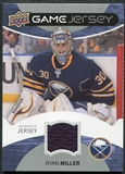 2012/13 Upper Deck Game Jerseys #GJMI Ryan Miller G