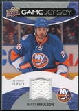 2012/13 Upper Deck Game Jerseys #GJMM Matt Moulson H