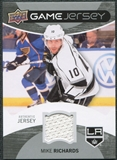 2012/13 Upper Deck Game Jerseys #GJMR Mike Richards G