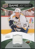 2012/13 Upper Deck Game Jerseys #GJRS Ryan Suter H
