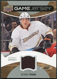 2012/13 Upper Deck Game Jerseys #GJRY Bobby Ryan H