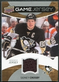 2012/13 Upper Deck Game Jerseys #GJSC Sidney Crosby D