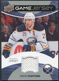 2012/13 Upper Deck Game Jerseys #GJSF Drew Stafford H