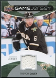 2012/13 Upper Deck Game Jerseys #GJTD Trevor Daley H