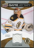 2012/13 Upper Deck Game Jerseys #GJTR Tuukka Rask H