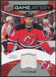 2012/13 Upper Deck Game Jerseys #GJTZ Travis Zajac H