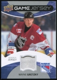 2012/13 Upper Deck Game Jerseys #GJWG Wayne Gretzky All Star B