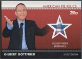 2011 American Pie #APR15 Gilbert Gottfried Relics Shirt