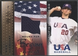 2006 USA Baseball #2 Nick Adenhart Bound for Beijing Materials Jersey
