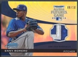2012 Bowman Chrome #ER Enny Romero Futures Game Patch #08/10