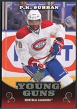 2010/11 Upper Deck Young Guns Oversized #OS11 P.K. Subban