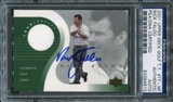 2001 Upper Deck Tour Threads #TTNF Nick Faldo Autograph PSA/DNA Slabbed
