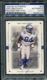 1999 Upper Deck SP Authentic #79 Joey Galloway Autograph PSA/DNA Slabbed