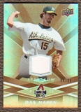 2009 Upper Deck Spectrum Gold Jersey #4 Dan Haren /99