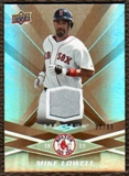 2009 Upper Deck Spectrum Gold Jersey #16 Mike Lowell /99