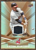 2009 Upper Deck Spectrum Gold Jersey #29 Victor Martinez /99