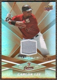 2009 Upper Deck Spectrum Gold Jersey #41 Carlos Lee /99