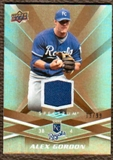 2009 Upper Deck Spectrum Gold Jersey #45 Alex Gordon /99