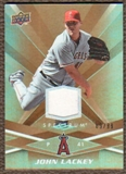 2009 Upper Deck Spectrum Gold Jersey #49 John Lackey /99