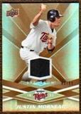 2009 Upper Deck Spectrum Gold Jersey #58 Justin Morneau /99