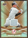 2009 Upper Deck Spectrum Gold Jersey #65 Derek Jeter /99