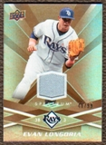 2009 Upper Deck Spectrum Gold Jersey #91 Evan Longoria /99