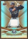 2009 Upper Deck Spectrum Gold Jersey #93 Carl Crawford /99
