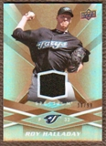 2009 Upper Deck Spectrum Gold Jersey #97 Roy Halladay /99