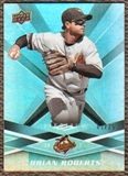 2009 Upper Deck Spectrum Turquoise #10 Nick Markakis /25
