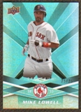 2009 Upper Deck Spectrum Turquoise #16 Mike Lowell /25