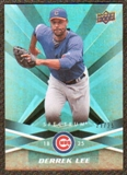 2009 Upper Deck Spectrum Turquoise #18 Derrek Lee /25