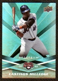 2009 Upper Deck Spectrum Turquoise #100 Lastings Milledge /25