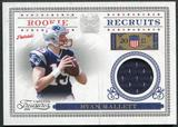 2011 Panini Timeless Treasures Rookie Recruits Materials #9 Ryan Mallett /250