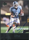 2011 Upper Deck College Legends Autographs #90 Greg Little RC Autograph