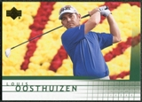 2012 Upper Deck SP Game Used Retro Rookies #R13 Louis Oosthuizen