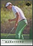 2012 Upper Deck SP Game Used Retro Rookies #R16 Matteo Manassero