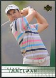 2012 Upper Deck SP Game Used Retro Rookies #R21 Trevor Immelman