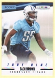 2012 Panini Rookies and Stars True Blue #152 Zach Brown