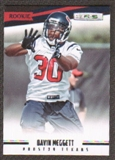 2012 Panini Rookies and Stars #168 Davin Meggett