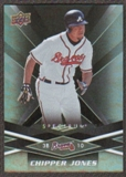 2009 Upper Deck Spectrum Black #6 Chipper Jones /50