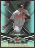 2009 Upper Deck Spectrum Black #10 Nick Markakis /50