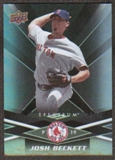 2009 Upper Deck Spectrum Black #11 Josh Beckett /50
