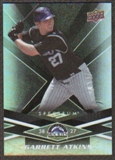 2009 Upper Deck Spectrum Black #34 Garrett Atkins /50