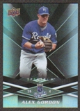 2009 Upper Deck Spectrum Black #45 Alex Gordon /50