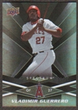 2009 Upper Deck Spectrum Black #47 Vladimir Guerrero /50