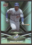 2009 Upper Deck Spectrum Black #52 Matt Kemp /50