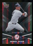 2009 Upper Deck Spectrum Black #65 Derek Jeter /50