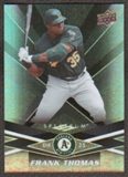 2009 Upper Deck Spectrum Black #71 Frank Thomas /50